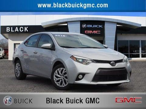 2016 Toyota Corolla Le In Statesville Nc Black Automotive Group